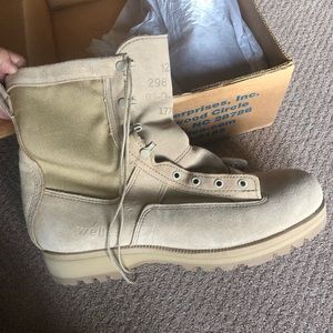 Mens army official combat boots
